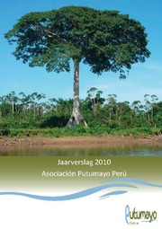 Jaarverslag 2010 Asociación Putumayo Perú Kaft